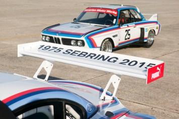 DLEDMV BMW Z4 GTLM & 3.0 CSL Sebring 19
