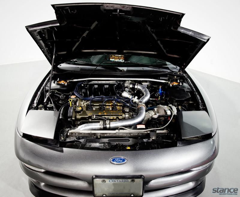DLEDMV Ford probe V6 turbo Stance 15
