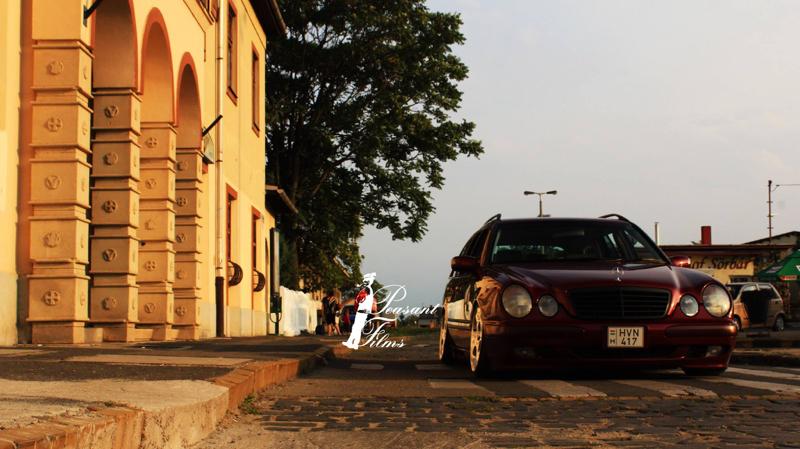 DLEDMV Mercedes S210 Bagged & Brabus 06