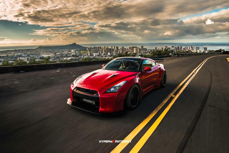 DLEDMV Nissan GTR LB Walk Hawai 14