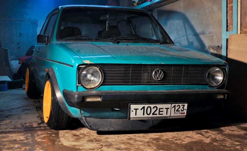 DLEDMV VW Golf 1 stancevagbleat' 04