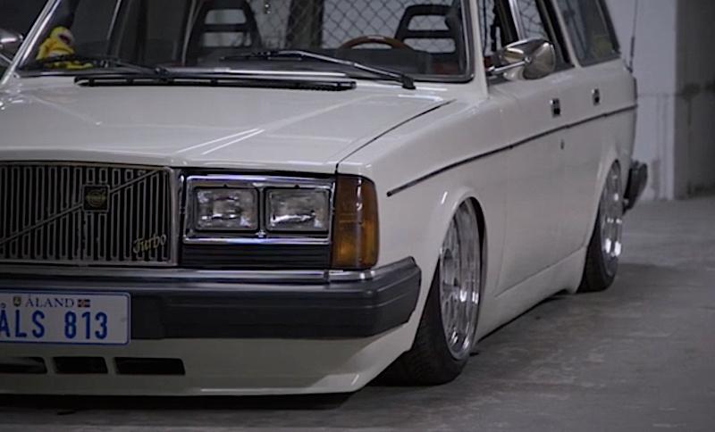 DLEDMV Volvo 245 California airride 02