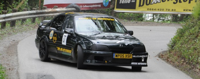 DLEDMV Opel Lotus Omega hillclimb weberhofer 05