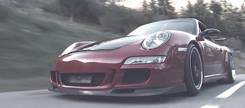 DLEDMV Porsche 997 GT3 the road passion 02