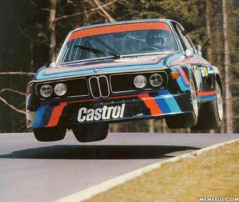 DLEDMV - BMW E9 3.0 CSL Engine Sound 11