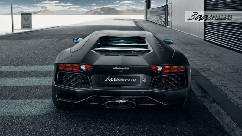 DLEDMV - Lamborghini Aventador Akrapovic & HRE - 02