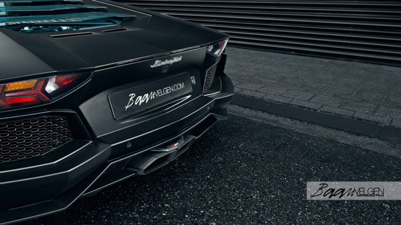 DLEDMV - Lamborghini Aventador Akrapovic & HRE - 07
