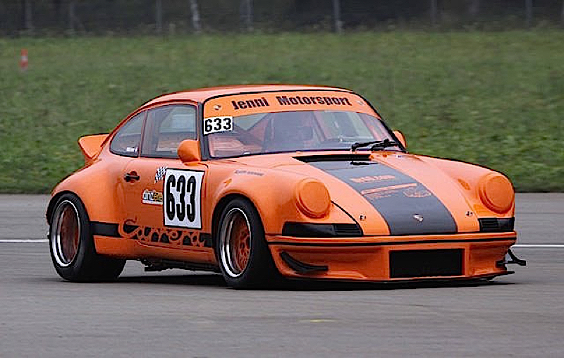 DLEDMV - Porsche 911 RSR Hillclimb Jenni Willi - 05