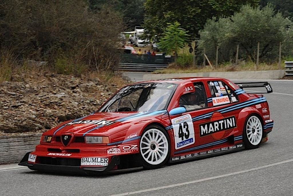 DLEDMV - Alfa 155 V6 DTM hillclimb monster - 06