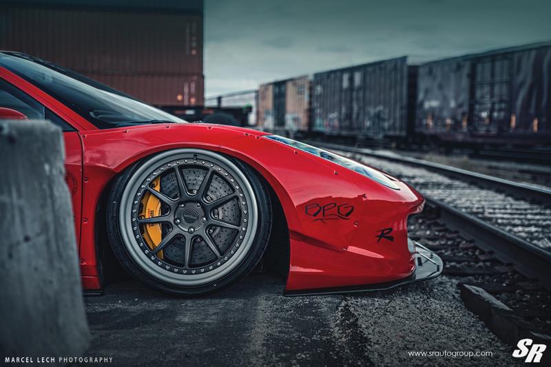 DLEDMV - Ferrari 458 Liberty Walk Airride & Pur - 04
