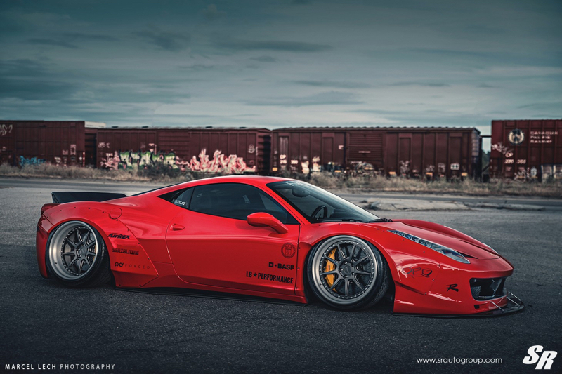 DLEDMV - Ferrari 458 Liberty Walk Airride & Pur - 12