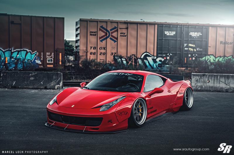 DLEDMV - Ferrari 458 Liberty Walk Airride & Pur - 14