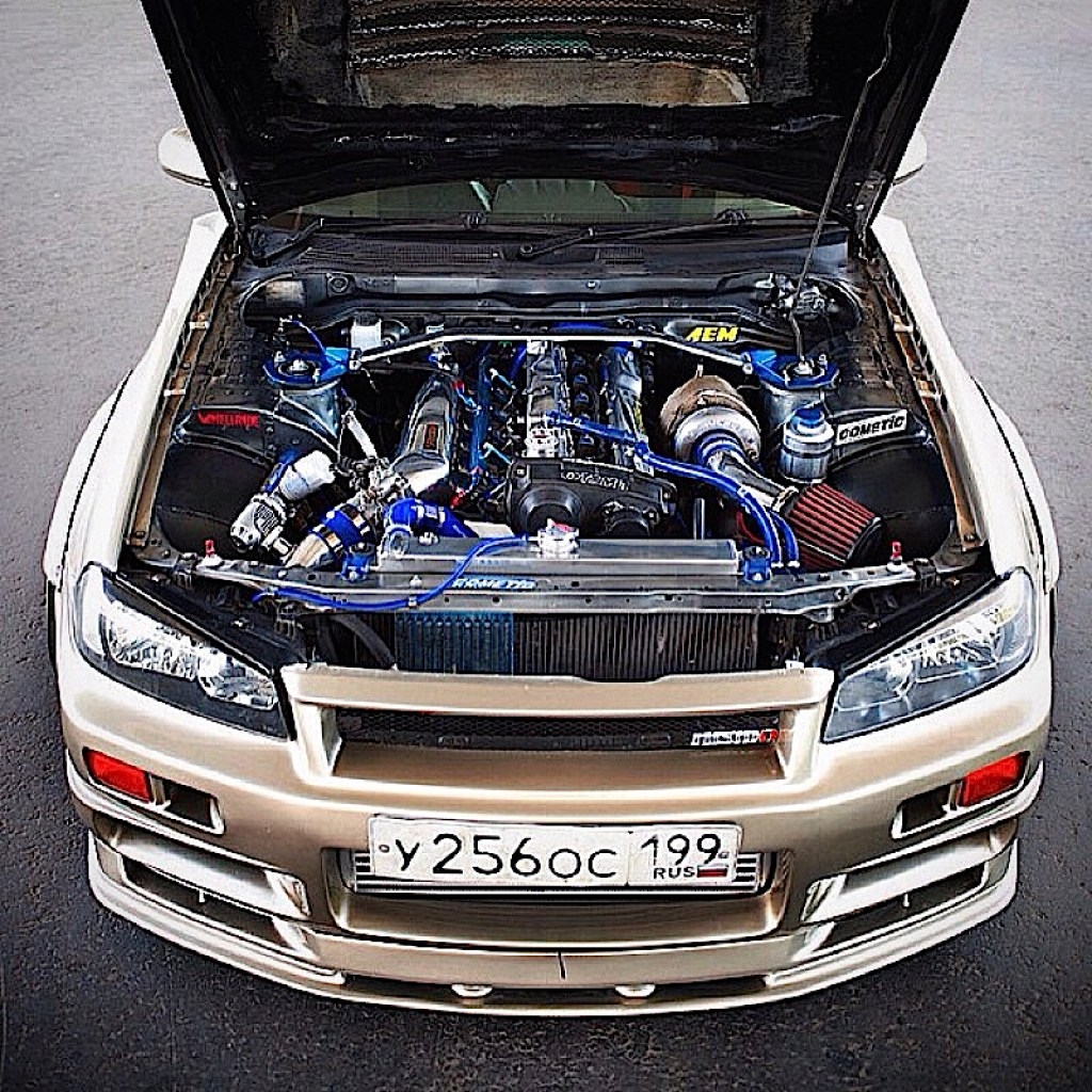 DLEDMV - Nissan Skyline R34 The Wide - 02