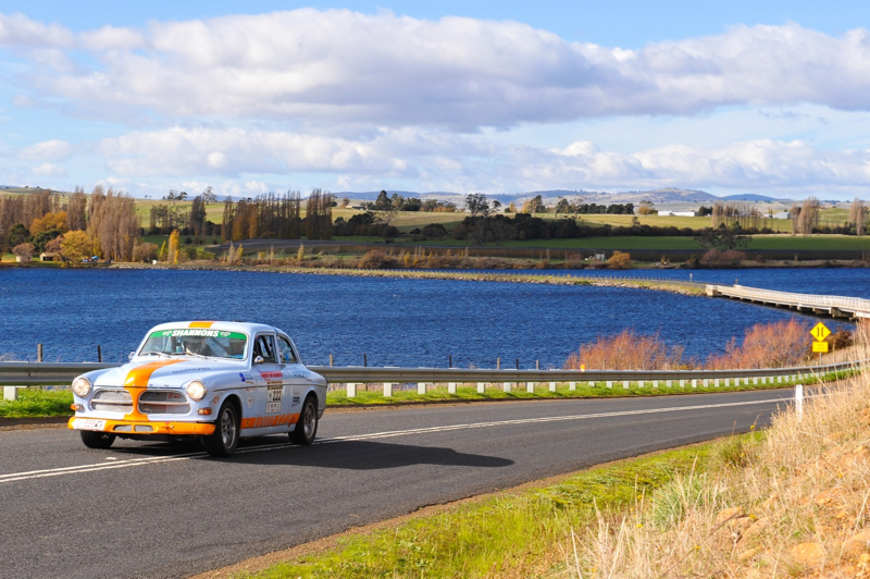 DLEDMV - Volvo 122S Targa Tasmania - 02