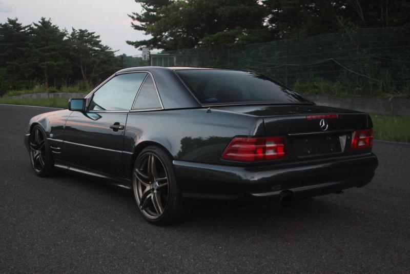 DLEDMV - Mercedes 500 SL swap 2JZ - 03