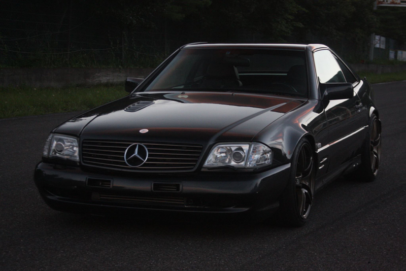 DLEDMV - Mercedes 500 SL swap 2JZ - 07