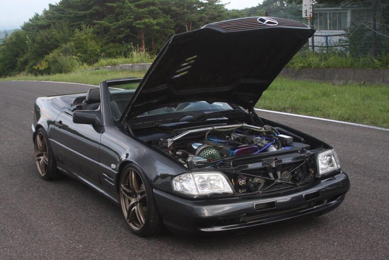 DLEDMV - Mercedes 500 SL swap 2JZ - 13