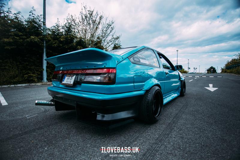 DLEDMV - Toyota AE86 swap V8 - 02