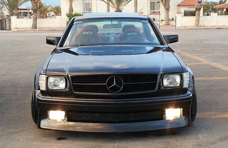 DLEDMV - Mercedes 560 SEC 2JZ drift Jordanie - 02