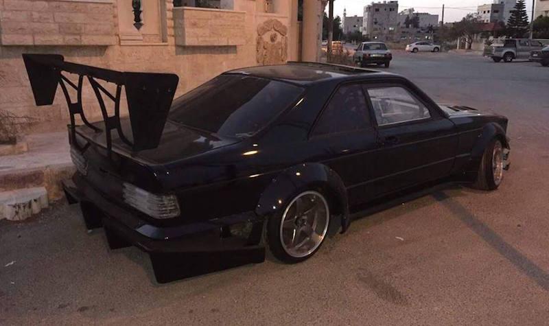 Un coupe 560 SEC en 2JZ... Serial Drifter ! 11