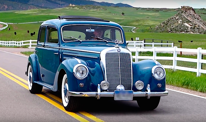 DLEDMV - Mercedes benz 220 W187 The Blues - 03
