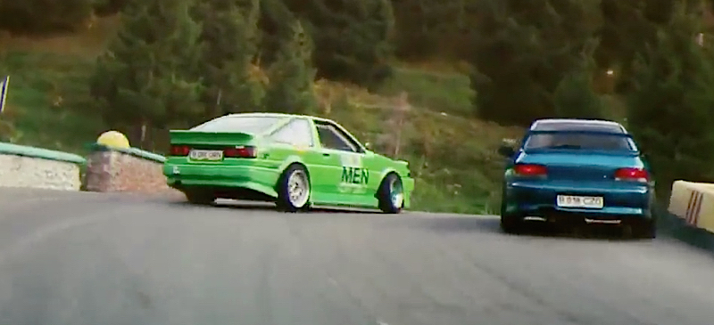 DLEDMV - AE86 vs 22b touge - 02