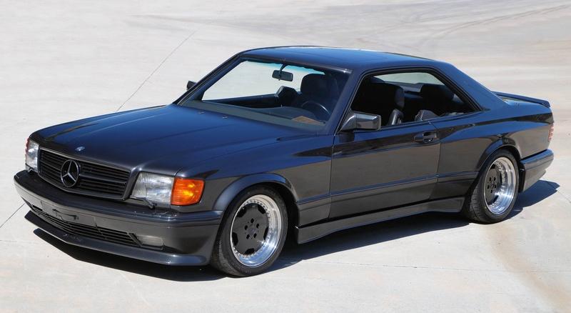 DLEDMV - Mercedes 560 SEC AMG Grey - 07
