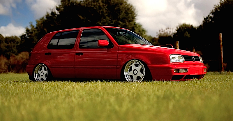 DLEDMV - VW Golf 3 airride OZ - 05