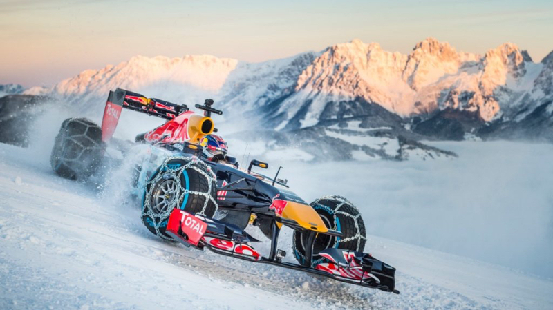 DLEDMV - F1 Verstappen Snow - 02