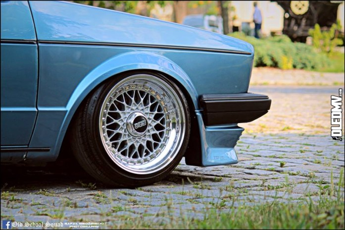 DLEDMV - VW Golf 1 blue full BBS - 09