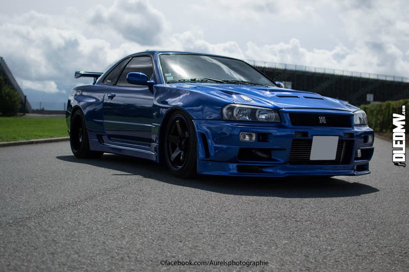 DLEDMV - Nissan Skyline Blue R34 Aurels - 06
