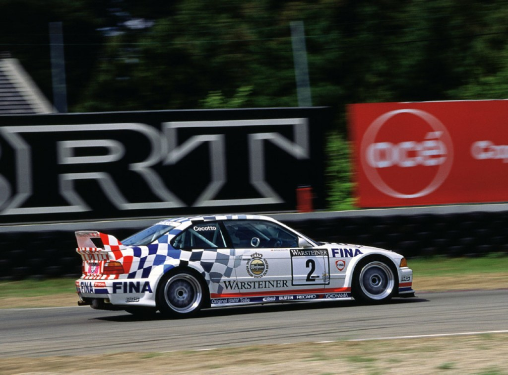 DLEDMV - BMW E36 race onboard - 01