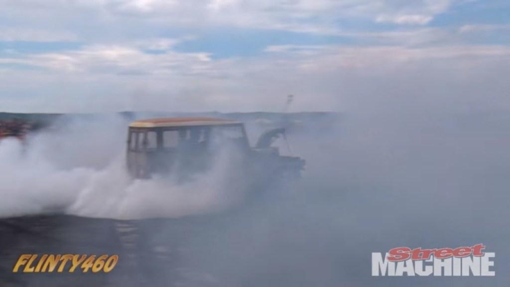 DLEDMV FJ40 burn machine 02