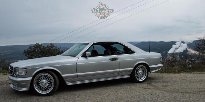 DLEDMV - Mercedes 500SEC Exclue - 02