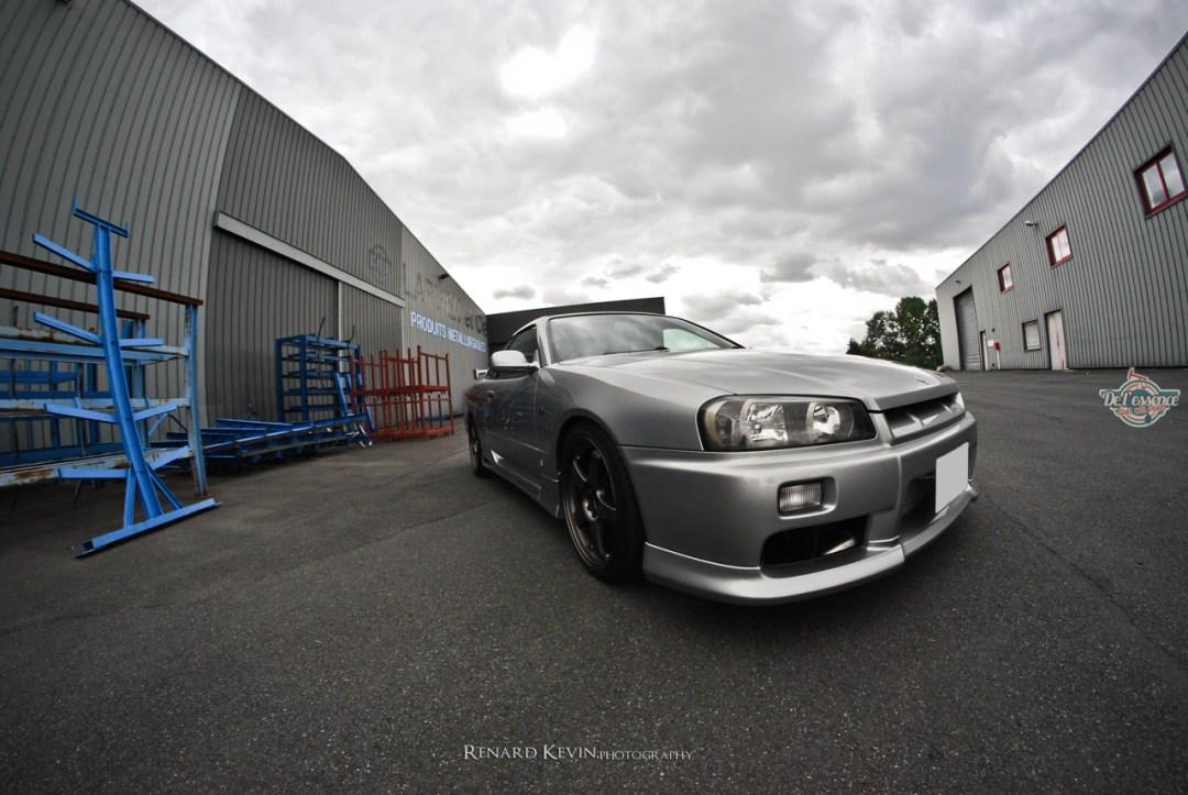 DLEDMV - Nissan Skyline R34 Grey KevinR - 07