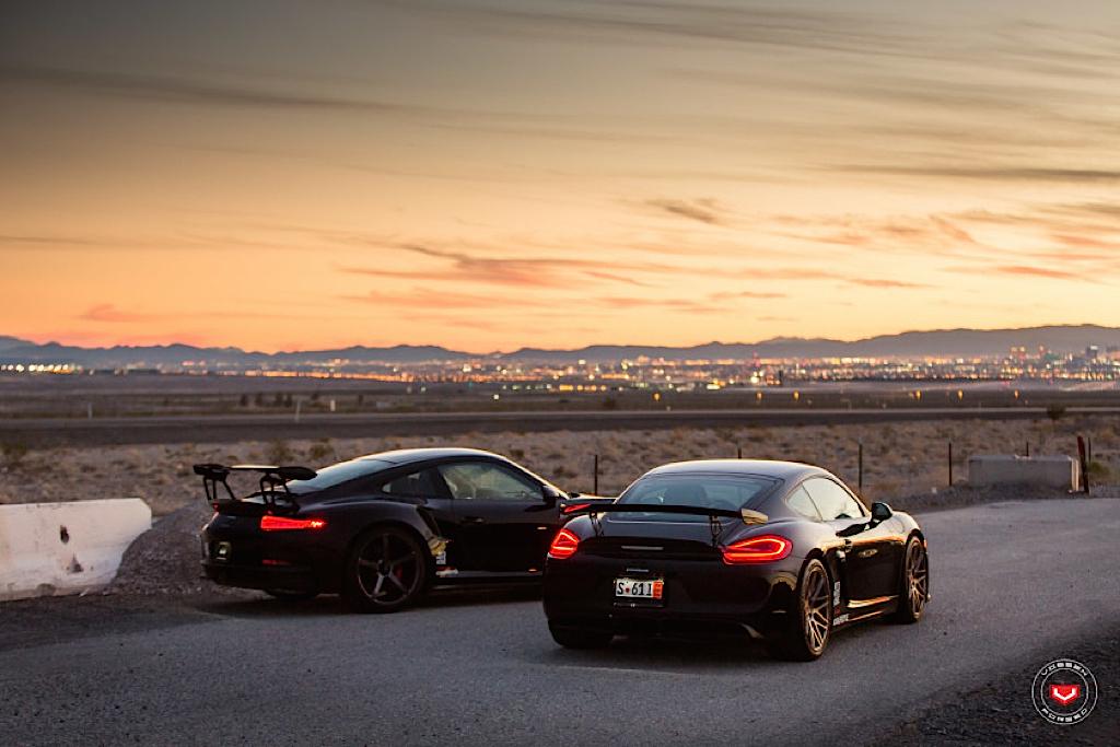 DLEDMV - Porsche GT3 RS & Cayman GT4 Vossen - 11