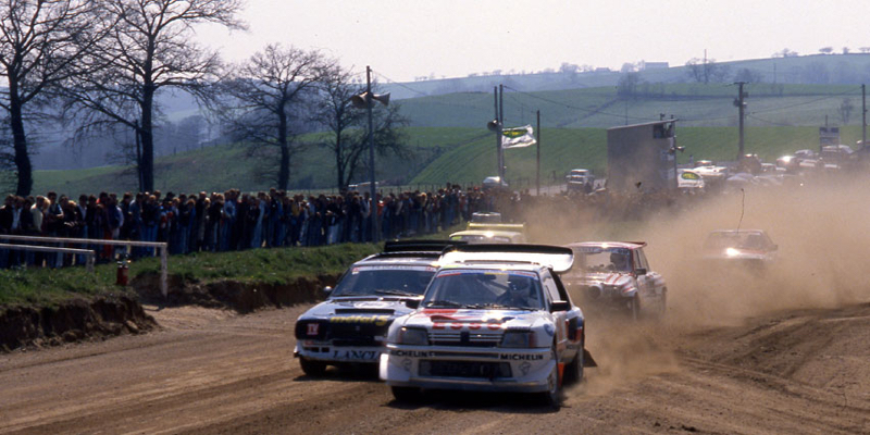 DLEDMV - Rallycross Brands Hatch 87 - 06