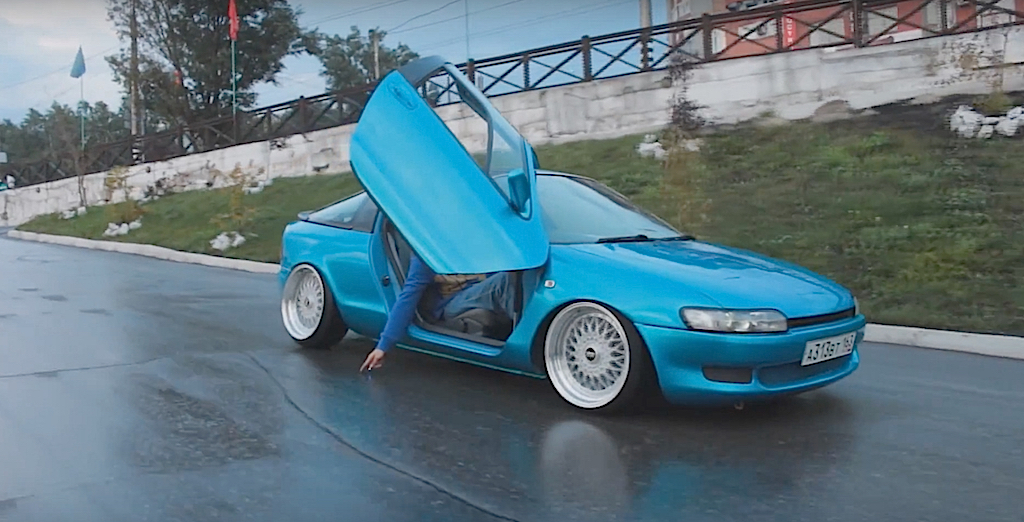 DLEDMV - Toyota Sera Slammed - 03