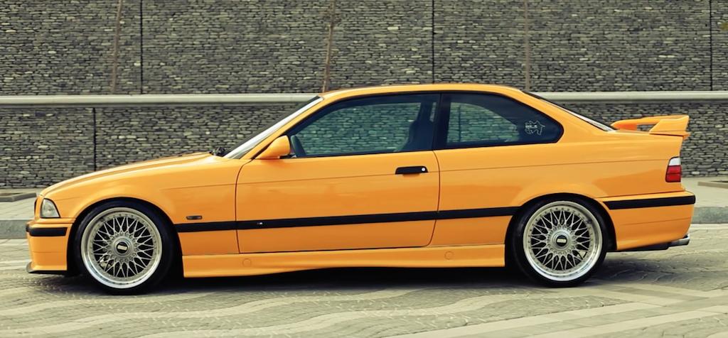 DLEDMV - BMW M3 E36 BBS jaune - 02