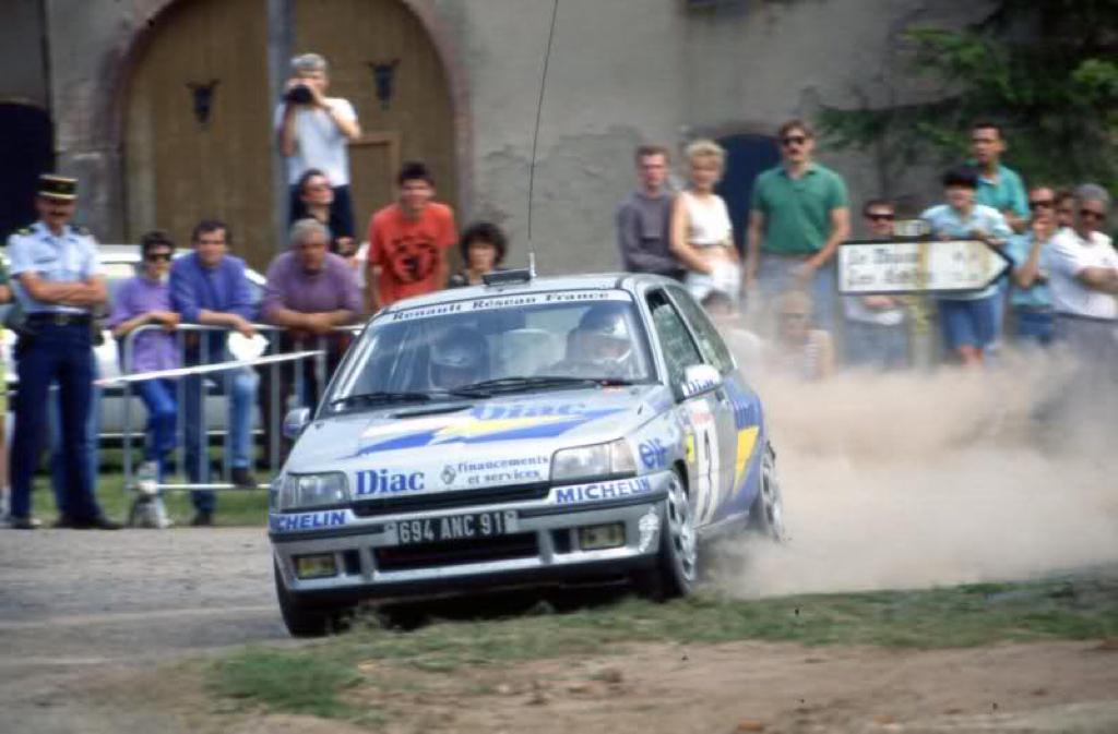 Jean Ragnotti en Clio Maxi... Show Time ! 21