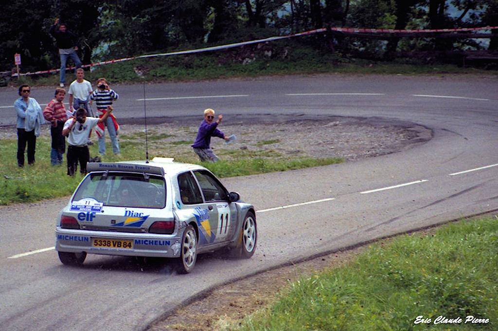 Jean Ragnotti en Clio Maxi... Show Time ! 22