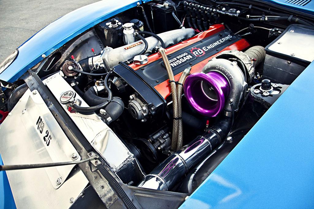 Datsun GT 240 Z... En Gulf et RB25 ! 23