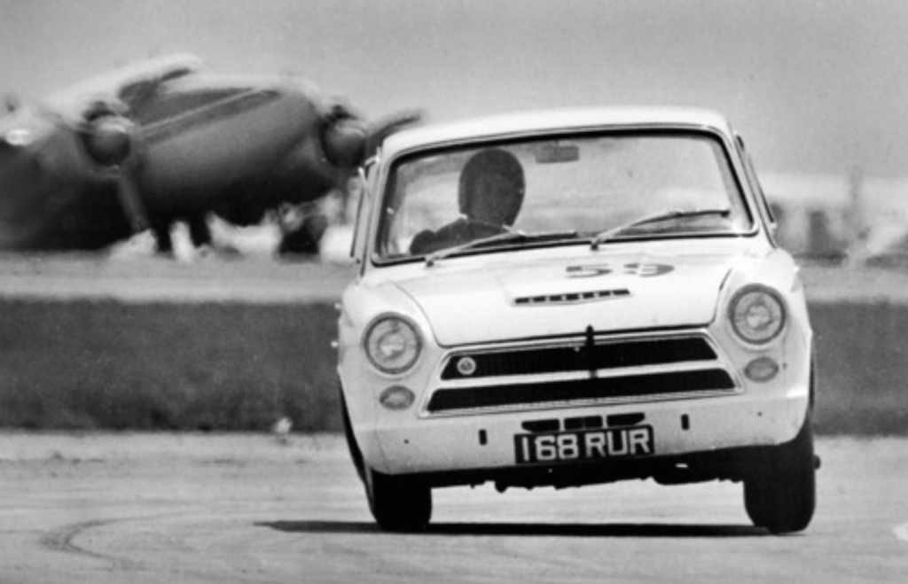 Jim Clark : Drift en Cortina Lotus 15