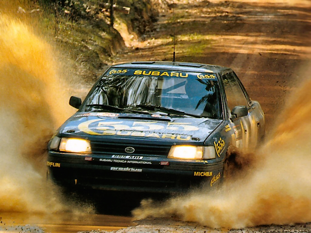 Subaru Legacy WRC... avec un certain Colin McRae 21