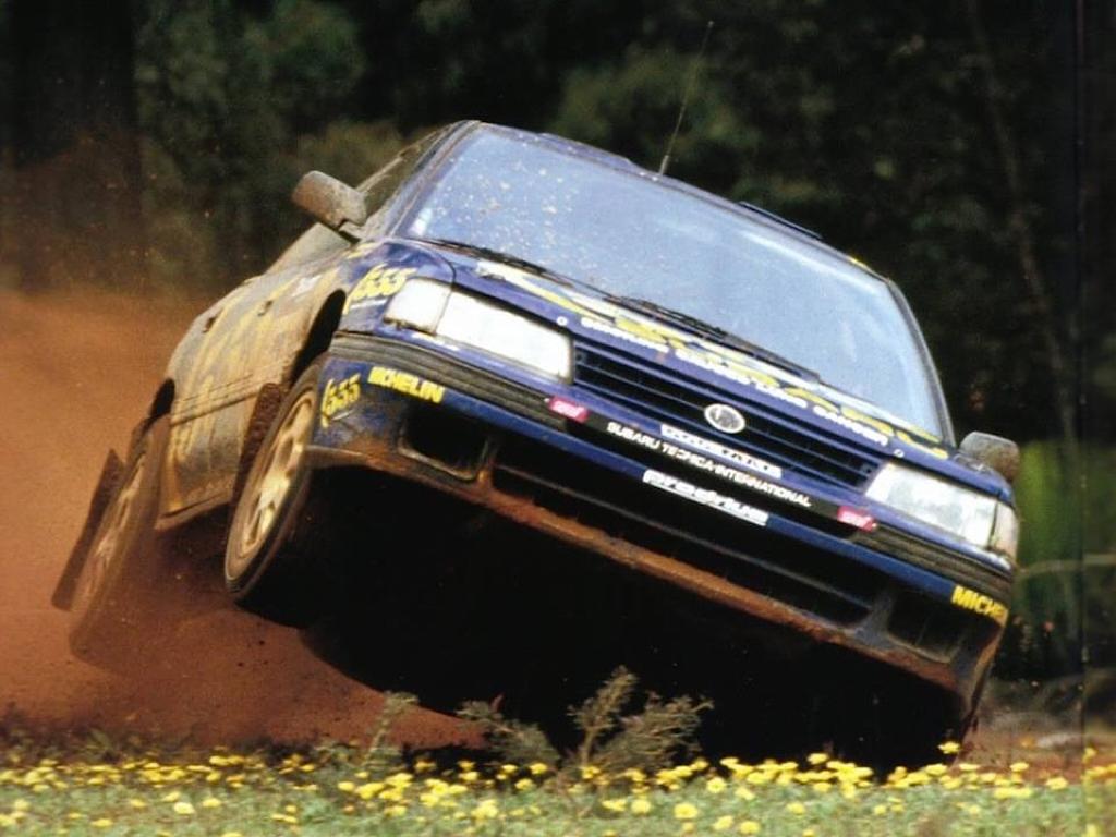 Subaru Legacy WRC... avec un certain Colin McRae 18