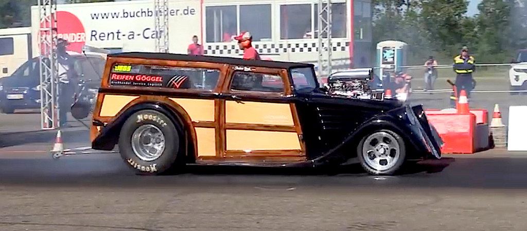'34 Willys Woody Wagon... Avec 1000 ch dans les cannes ! 15