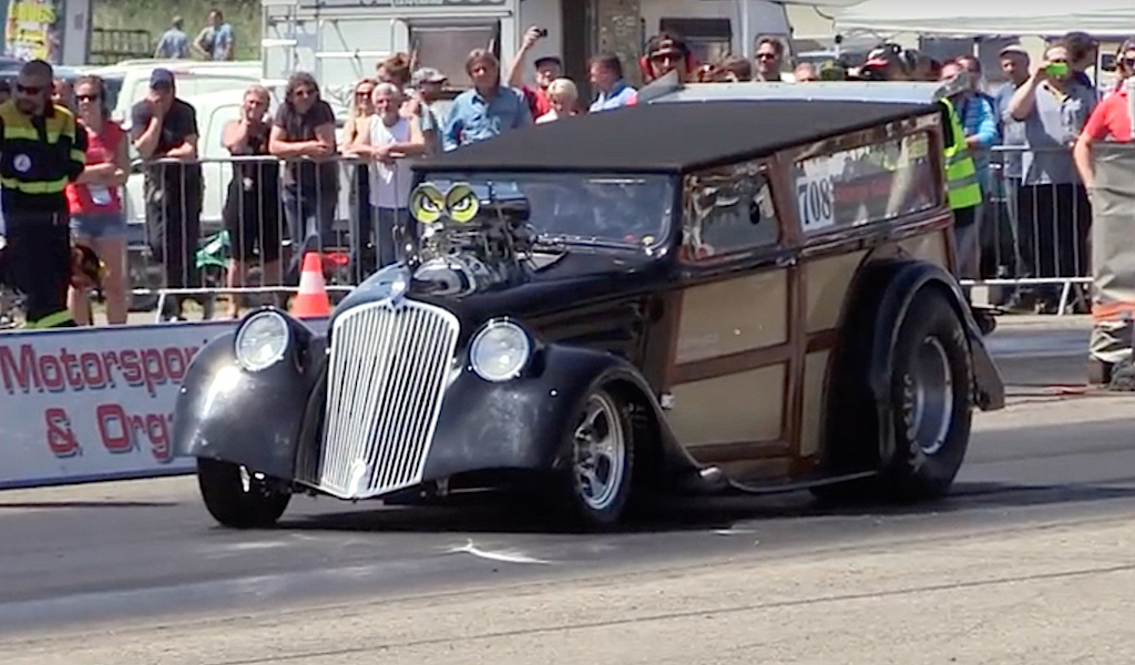 '34 Willys Woody Wagon... Avec 1000 ch dans les cannes ! 12