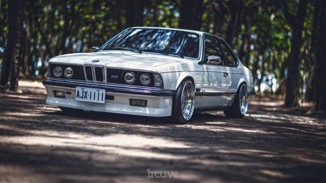 BMW E24... Le requin se chausse chez BBS ! 41