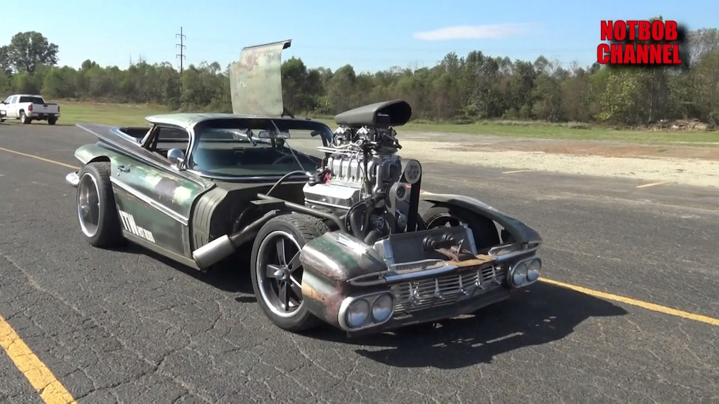 "Chevy Camino Blow Custom Rat Rod... ""Hulk Camino"" ! 16"