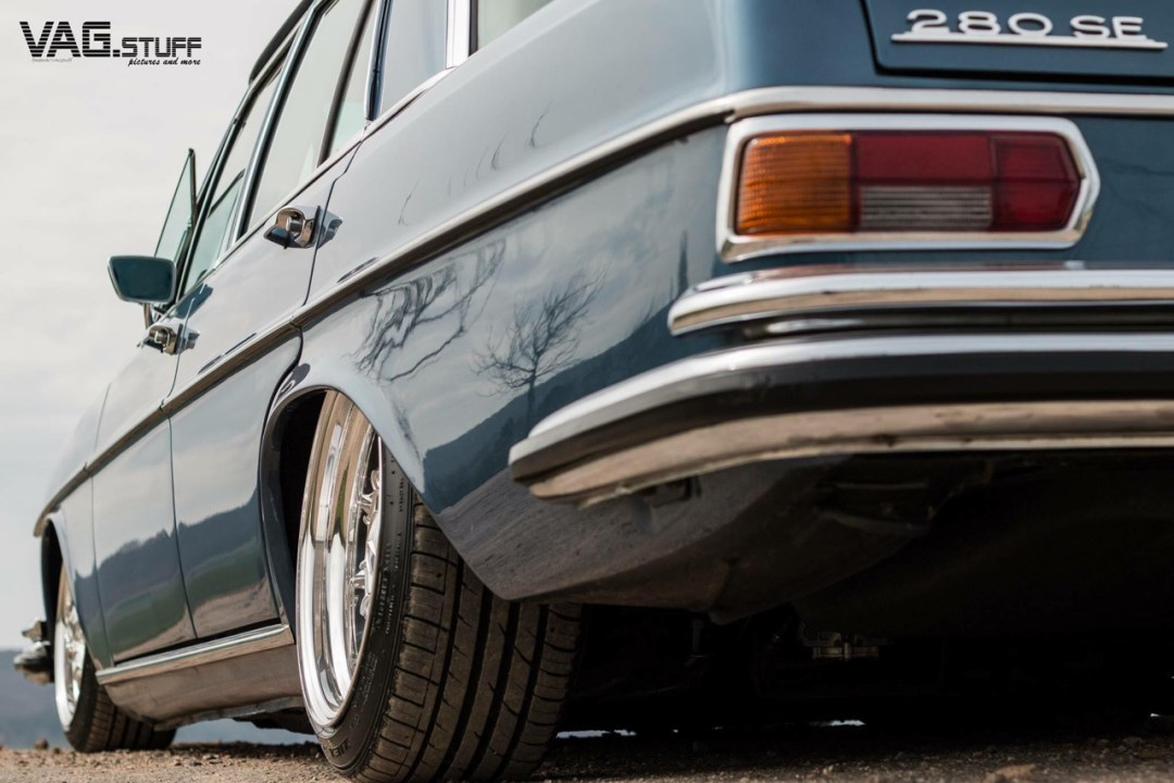 Bagged Mercedes 280SE... Barock ou AMG ? 27